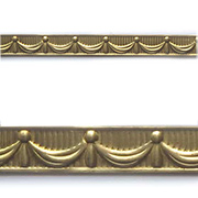 Embossed Brass Trim - Drape Banding