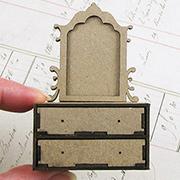 1:24 Gothic Dresser