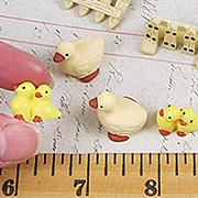 Mini Duck, Ducklings & Fence Set