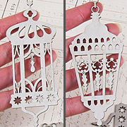 Eastern Lanterns Die-Cut Chipboard*