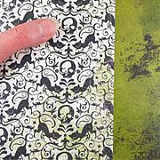 Eerie Reaper Scrapbook Paper