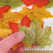 Embossed Fall Leaves