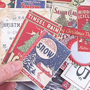 Tim Holtz Christmas Ephemera Pack