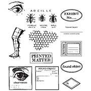 Classics 12 - Eye Labels Bees Cling Stamp Set