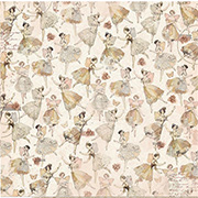 Charmed Fairies Dance Scrapbook Paper