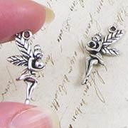 Silver Fairy Charm