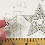 Fancy Chipboard Star Cut-Outs
