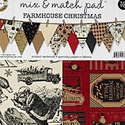 Mix & Match Paper Pad - Farmhouse Christmas
