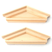Window Pediment - Federal