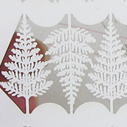 Dollhouse Laser-Cut Fern Leaves