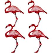 Pink Flamingo Brads