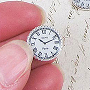 1/2 Inch Flat-Back Clocks