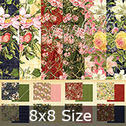Floral Shoppe 8x8 Paper Pad