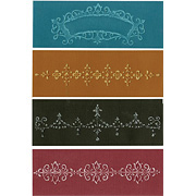 Chic Floral & Vines Embossing Folder Set
