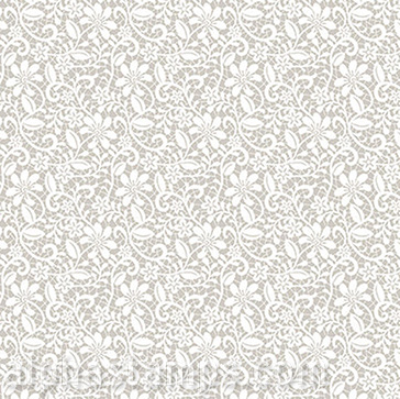 Floral Lace On Taupe Scrapbook Paper Alpha Stamps