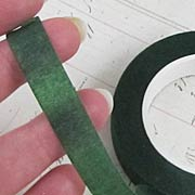 Green Stem-Wrap Floral Tape*
