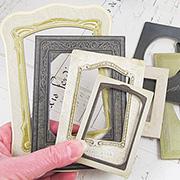 Tim Holtz Vignette Shadowbox Baseboard Frames
