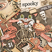 Tim Holtz Ephemera Pack - Frightful