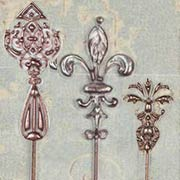 Architextures - Ornate Garden Stakes