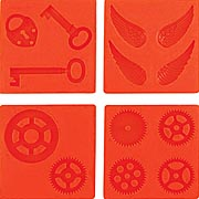 Steampunk Gear Silicone Mold Set