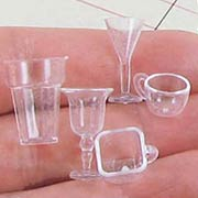 Mini Glassware - Set of 17