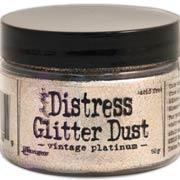 Tim Holtz Vintage Platinum Glitter Dust