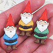 Garden Gnomes Resin Embellishments*