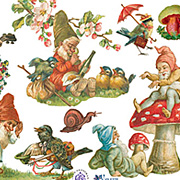 Gnomes and Elves Stickers