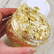 Nuvo Gilding Flakes - Radiant Gold