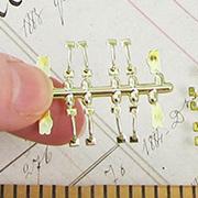 Set of Gold Window Hardware
