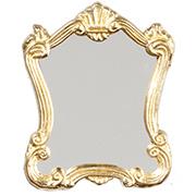 Gold Victorian Mirror
