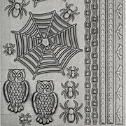Tim Holtz Metallic Stickers - Gothic*