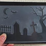 Graveyard Embossing Folder*