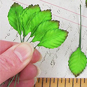 1 Inch Mulberry Paper Rose Leaves*