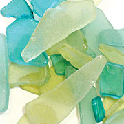 Sea Glass - Green & Yellow*