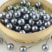 Large Pearl Stamen - Grey