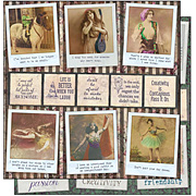 Gypsy Moments Poses & Reflections Scrapbook Paper