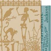 Tim Holtz - Embossing Folders - Halloween Night & Poison