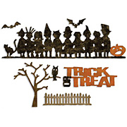 Tim Holtz Decorative Strip Die - Halloween Shadows