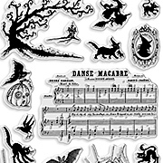 Halloween Charms Clear Stamp Set