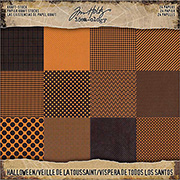Tim Holtz 8x8 Kraft Paper Stash - Halloween