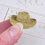 Resin Straw Hat