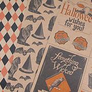Haunted House Kraft 12x12 Paper Set