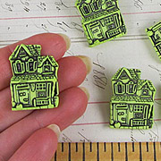 Haunted House Buttons