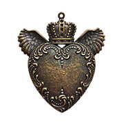 A Gilded Life - Love Wings Pendant - Gold
