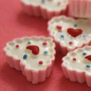 Mini Heart Tart Cake