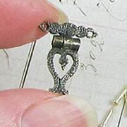 Pair of Fancy Mini Hinges w Pins