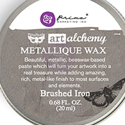Art Alchemy Metallique Wax - Brushed Iron