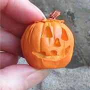 Mini Carved Jack O Lantern