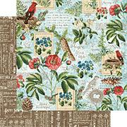 Time To Flourish - January Flourish Scrapbook Paper